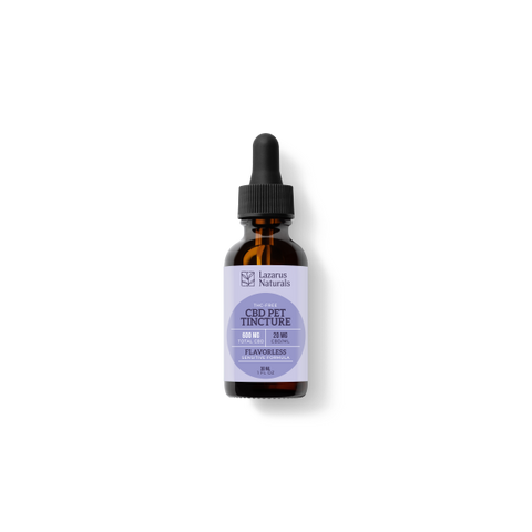 Sensitive Pet CBD Oil Tincture 600mg