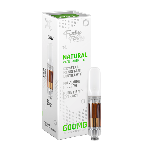 Funky Farms CRD Cartridge 600mg Natural
