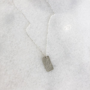 Silver Bar Layer Necklace - Gypset