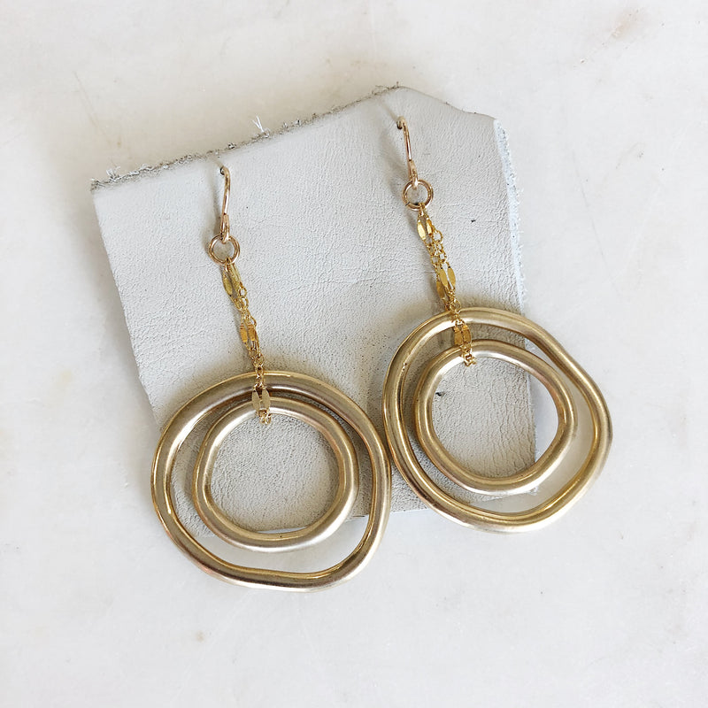 Infinite Circles Earrings - Gypset