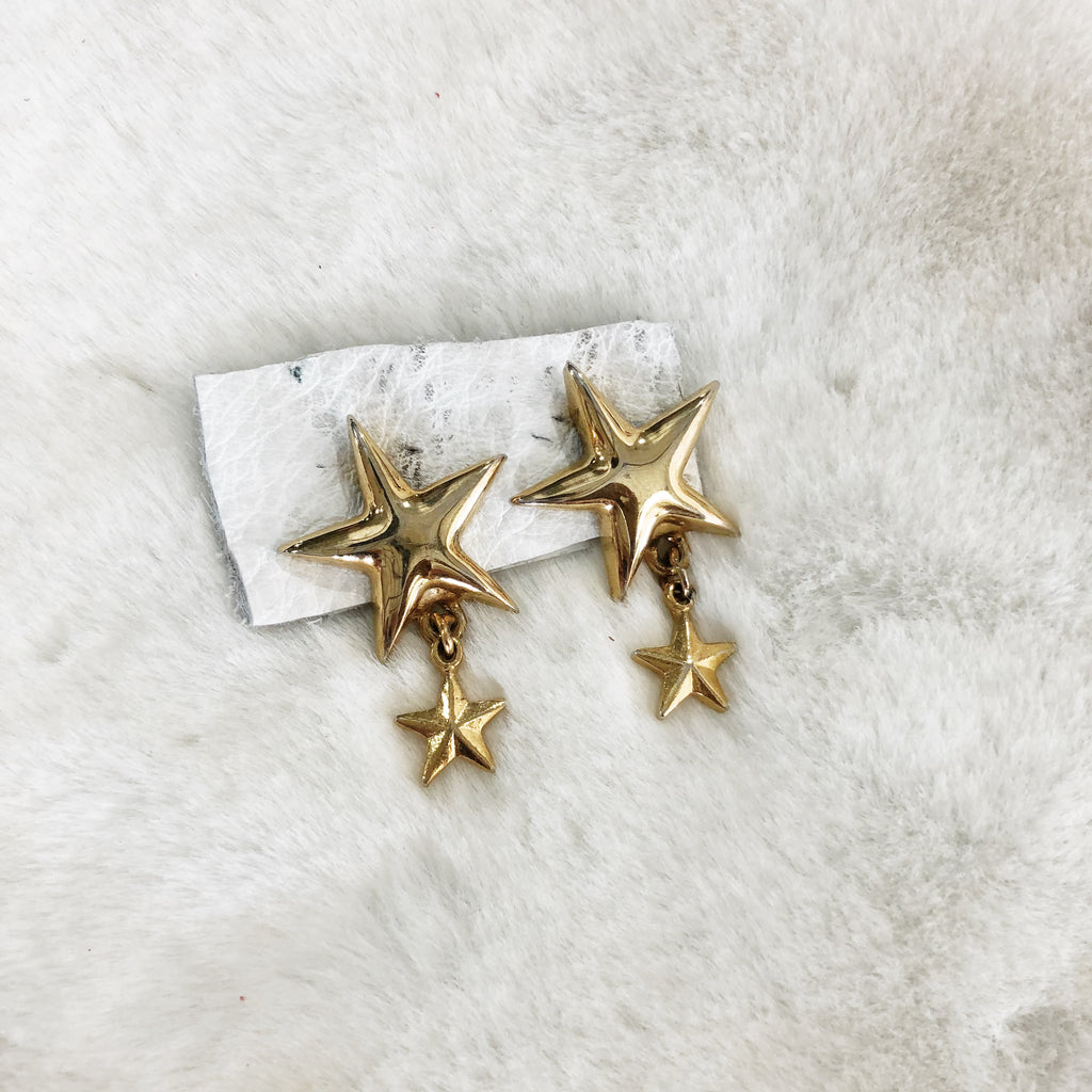 Follow Me Star Studs - Gypset