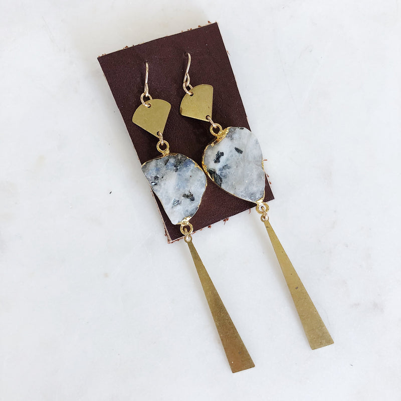Boho Moonstone Earrings - Gypset