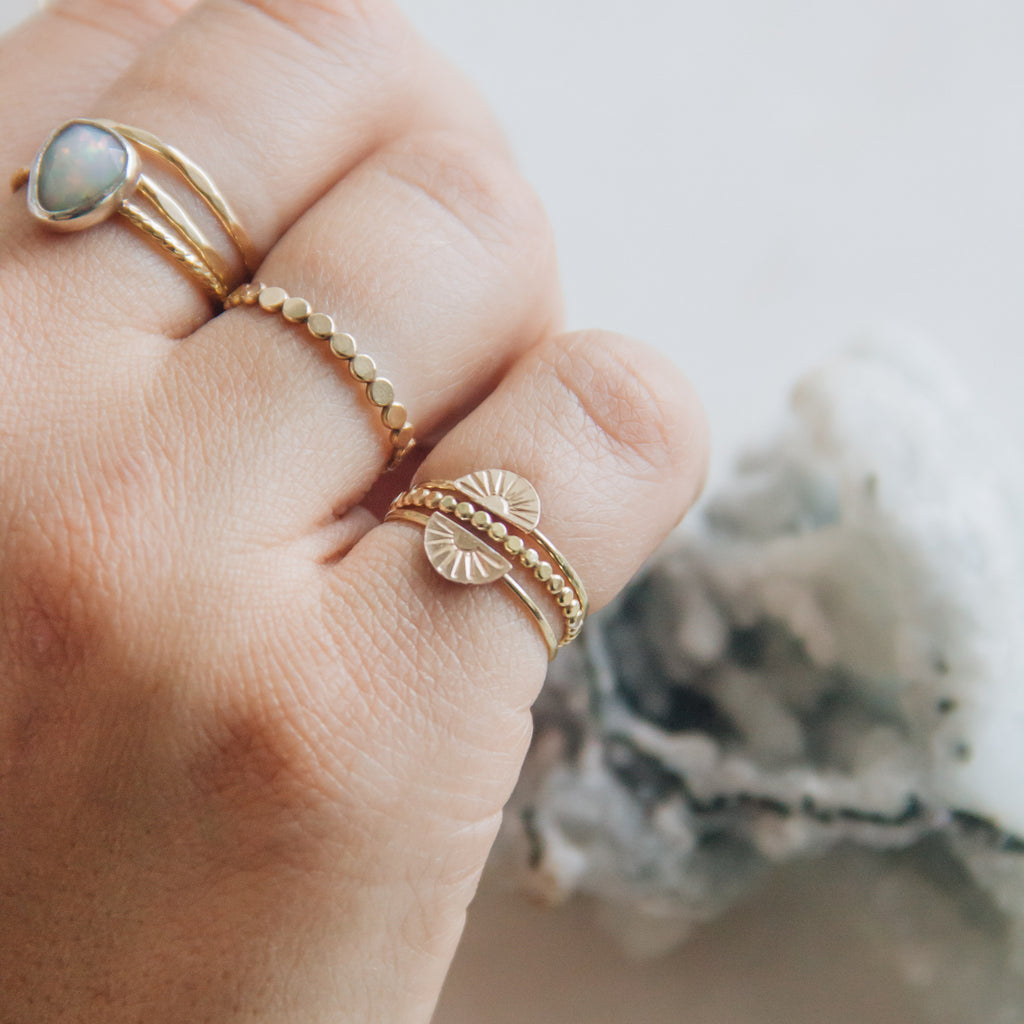 Sunrise Stacker Ring - Gypset