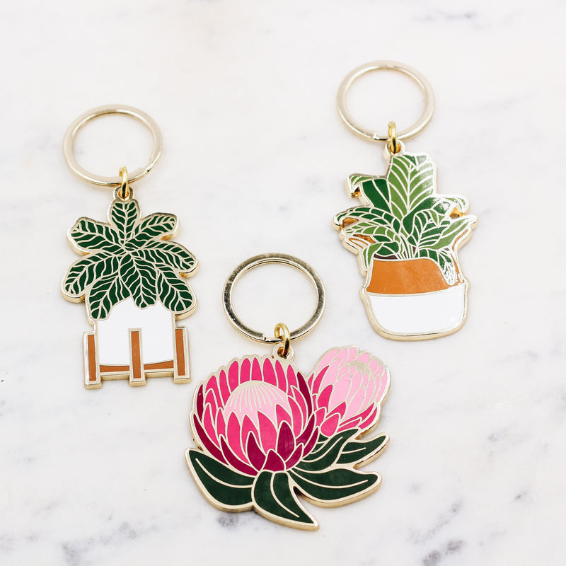 Potted Plant Keychain - Gypset