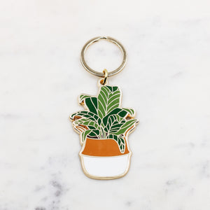 Potted Plant Keychain