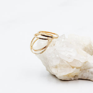Hundred Stacks Gold Stacker Ring - Gypset
