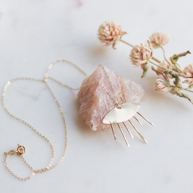 Sunrise Layering Necklace