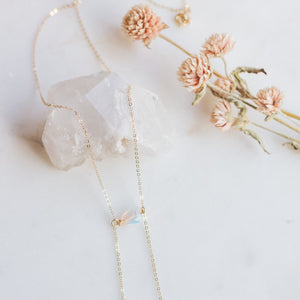 Opal Bolo Necklace - Gypset