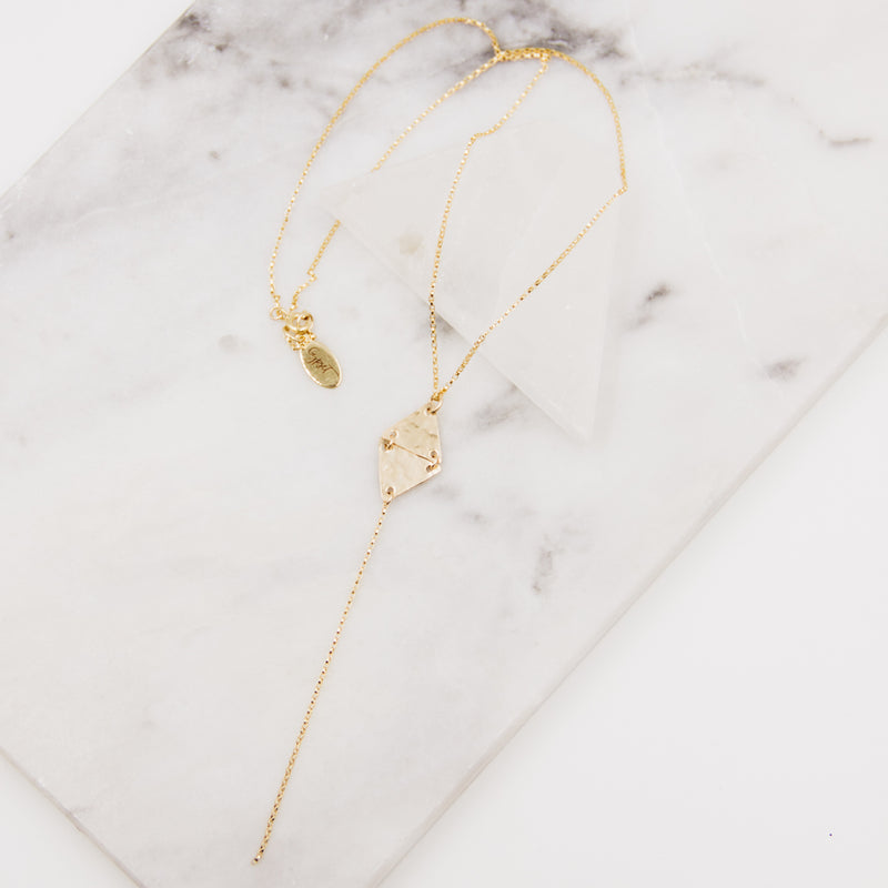 The Edge | Gold Layering Necklace