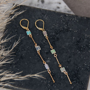 Cascade Opal Drop Earrings - Gypset