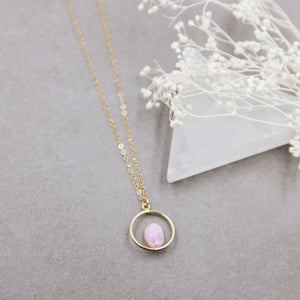 Infinite Opal Layering Necklace