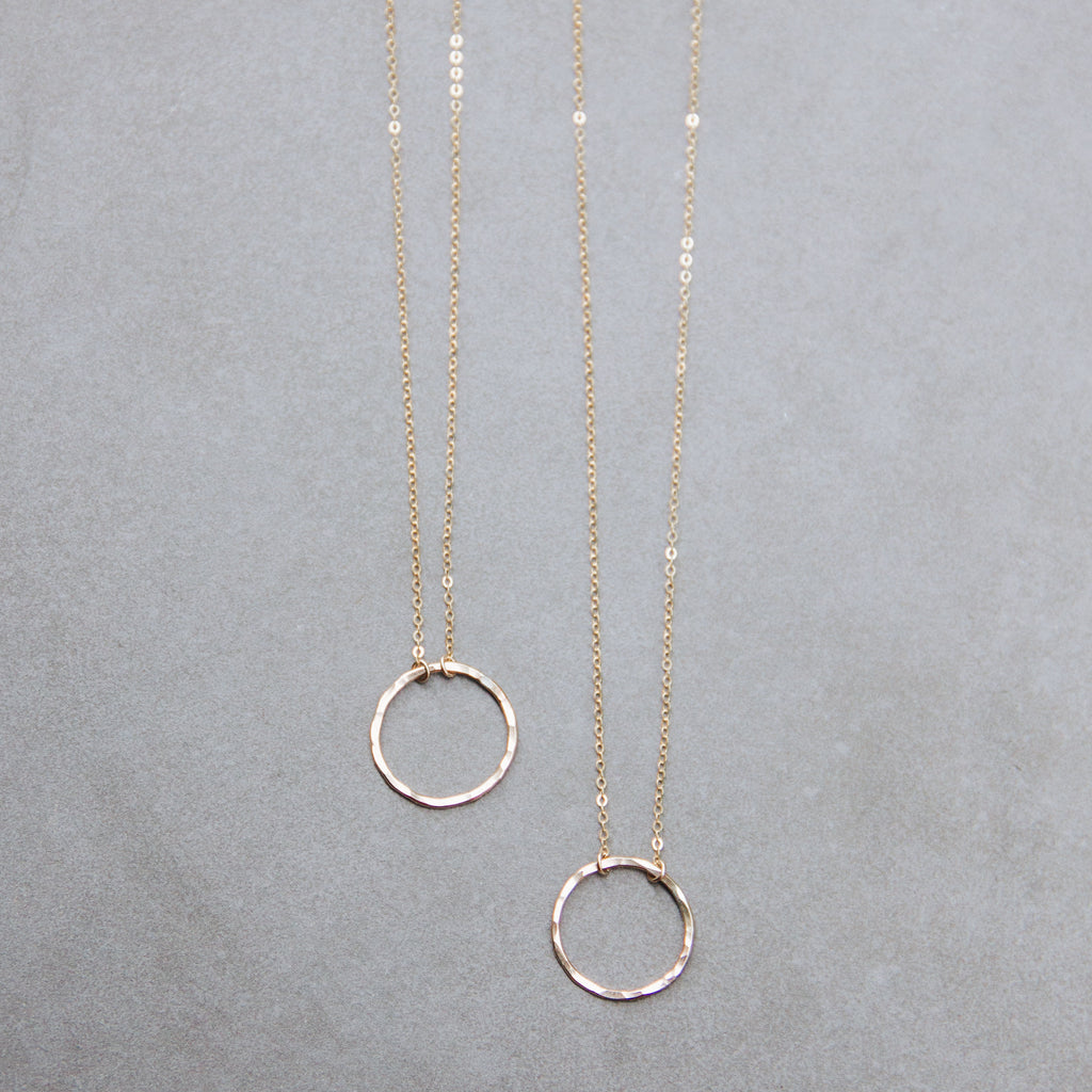 Circle Layering Necklace