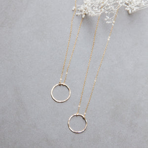 Circle Layering Necklace - Gypset