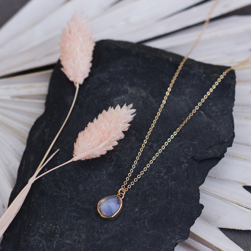 Midnight Opal Forever Necklace - Gypset