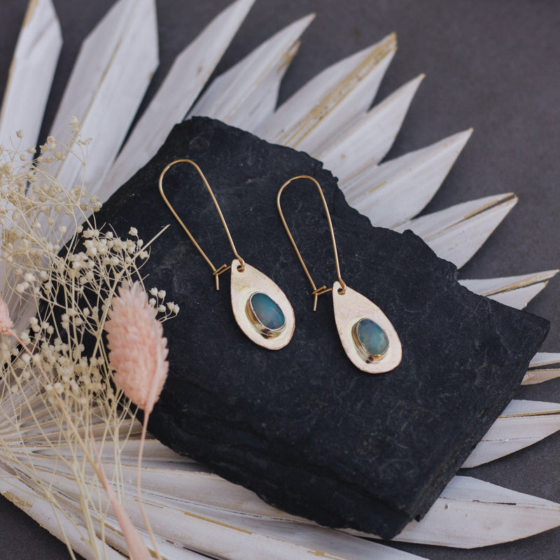Summer Rain | Opal Earrings - Gypset