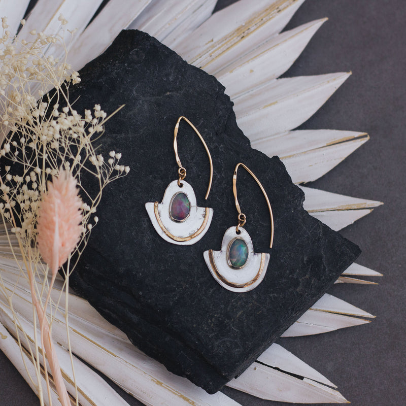 Accidental Beauty | Opal Earrings - Gypset