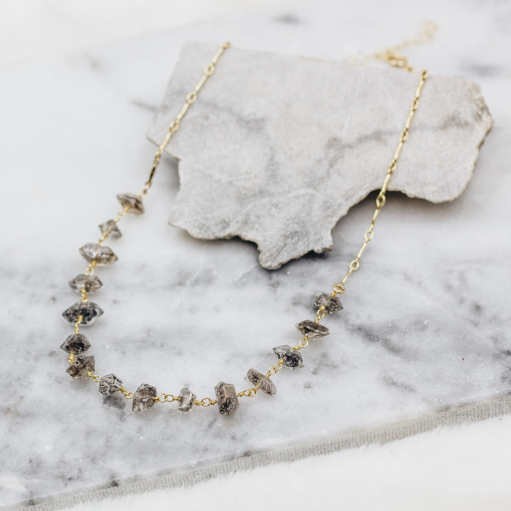 Herkimer Diamond Choker Necklace - Gypset