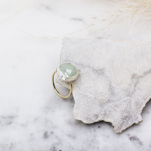 Aquamarine Ring Size 5.5