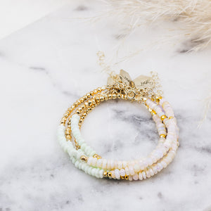 Double Opal Beaded Bracelet - Gypset