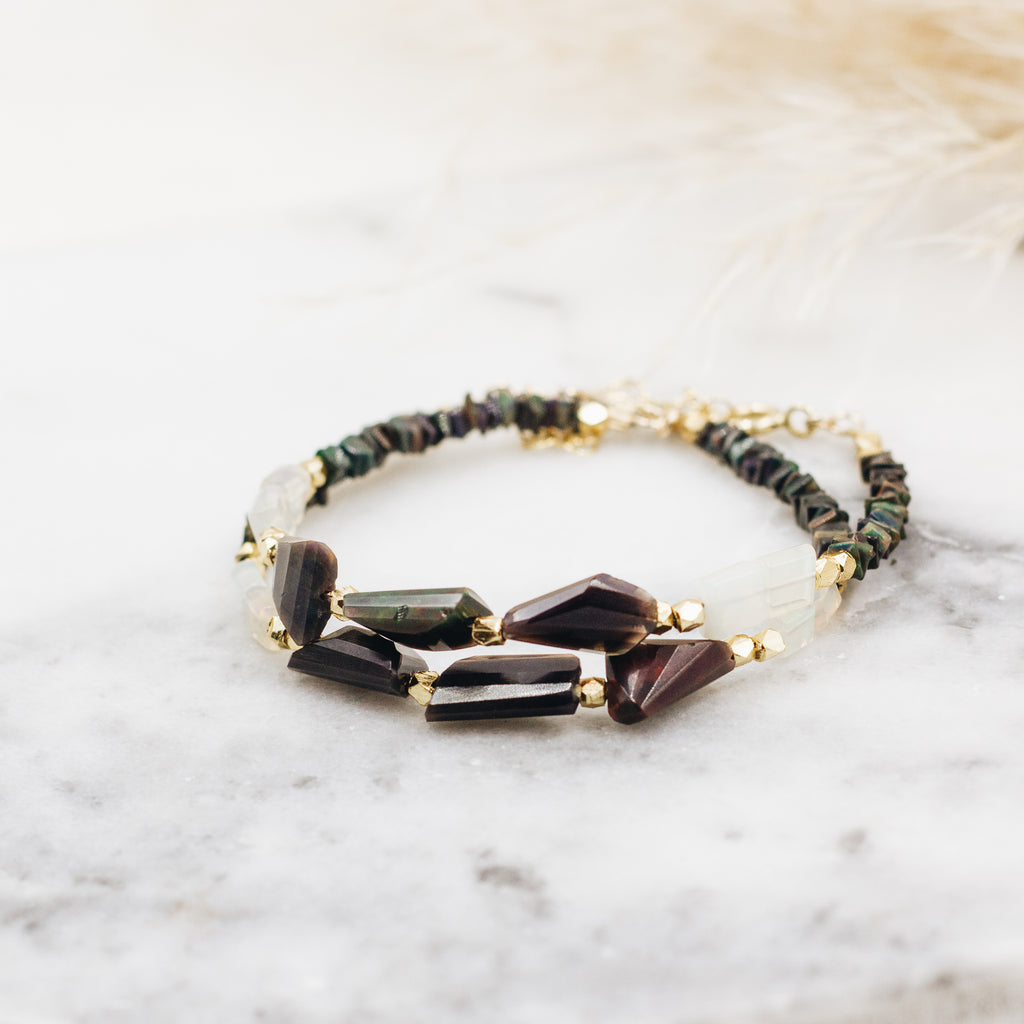 Midnight Opal Bracelet
