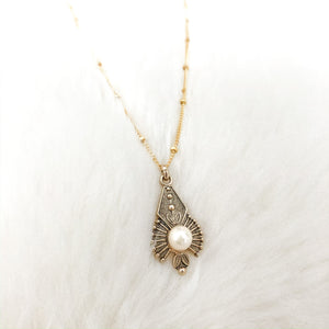 Vintage Pearl Necklace - Gypset