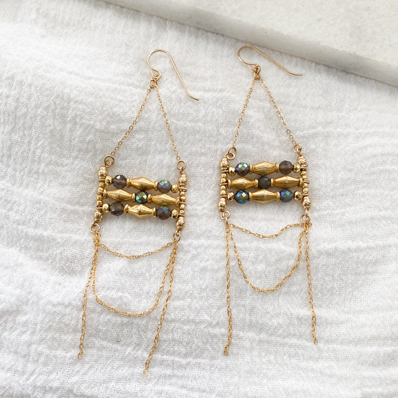 Malla Beaded Boho Earrings
