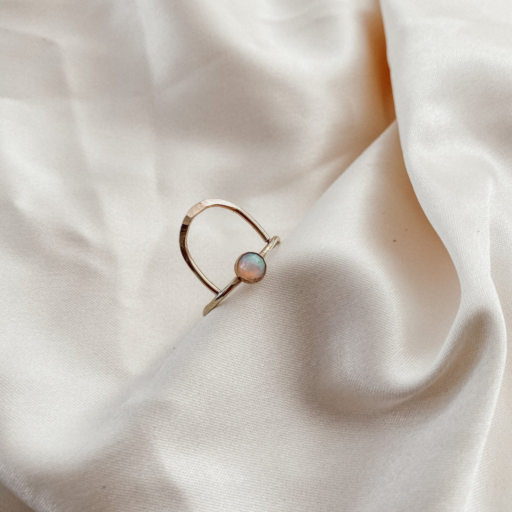 Opal Arco Ring