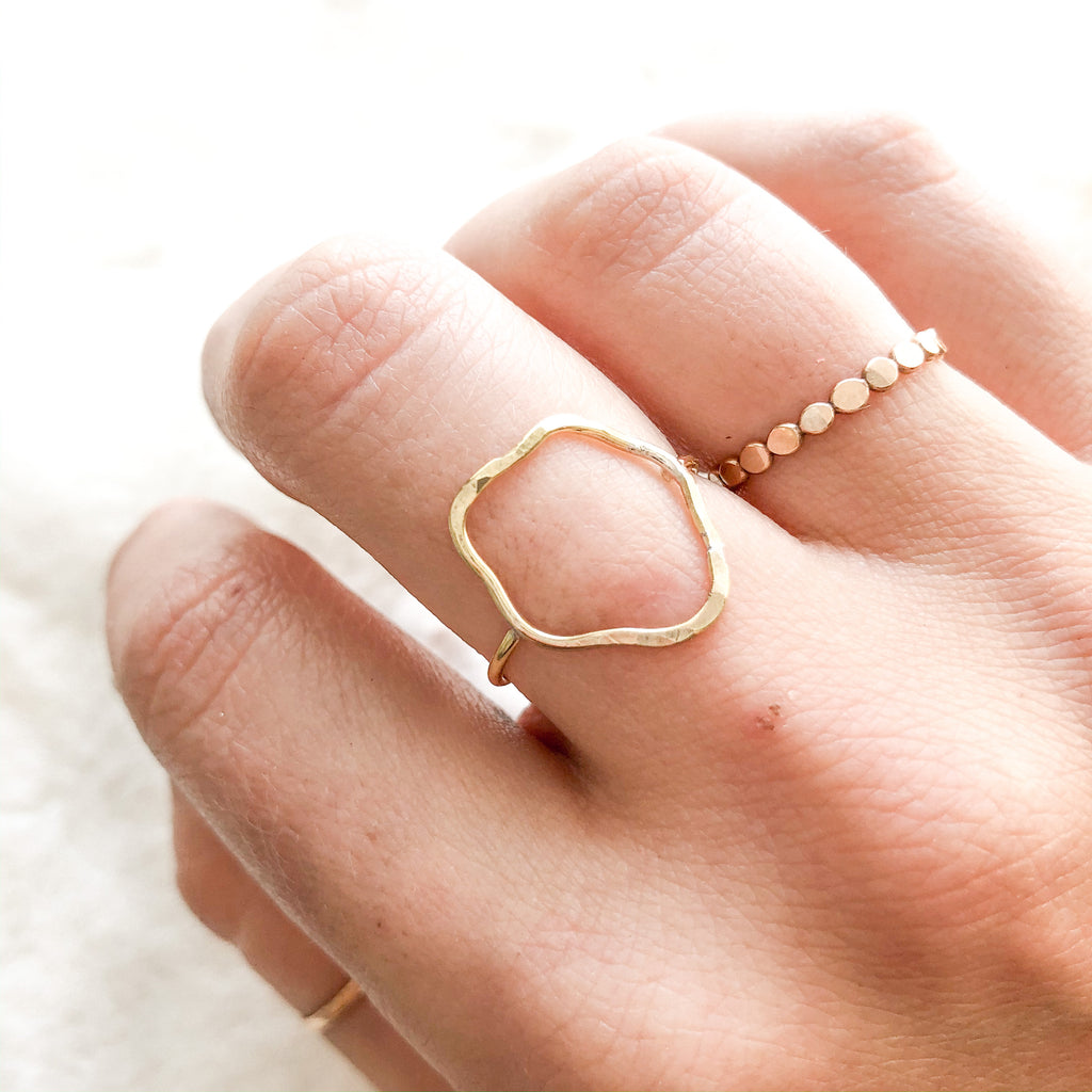 Squiggle Ring - size 7