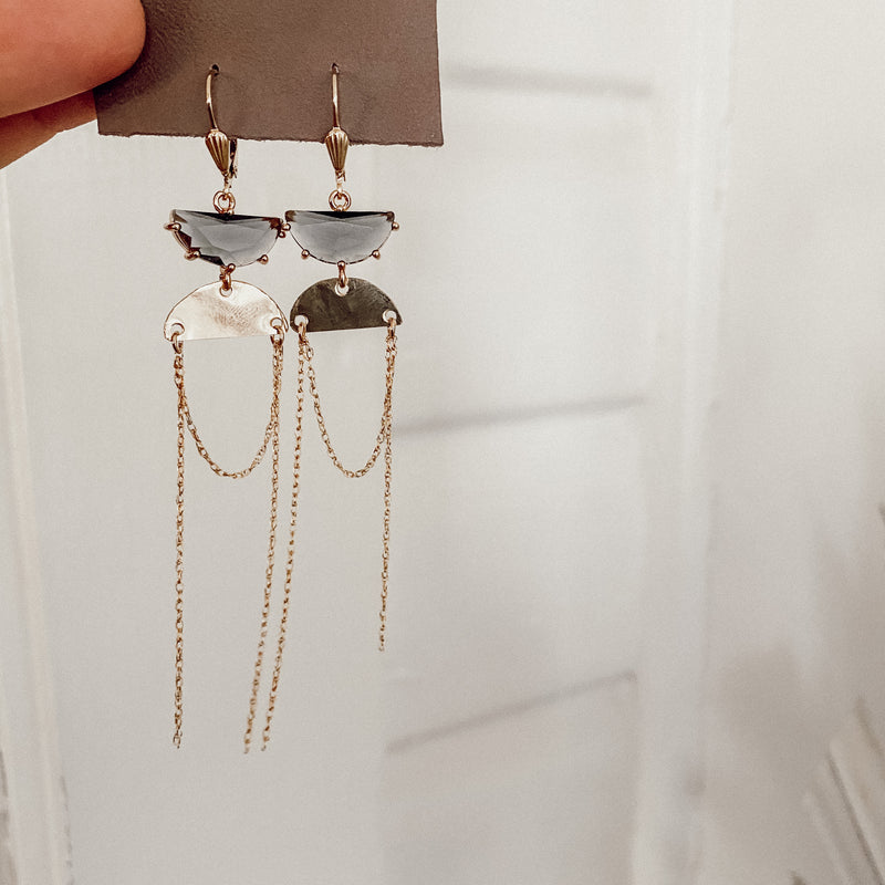 Under the Moon Holiday Earrings