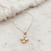 Opal Flower Layering Necklace - Gypset