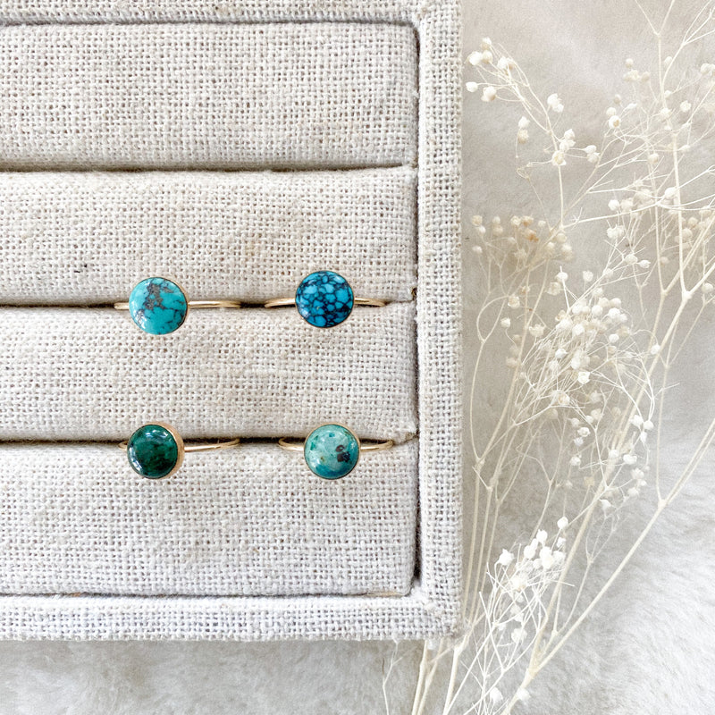 Turquoise Stacker Ring - Gypset