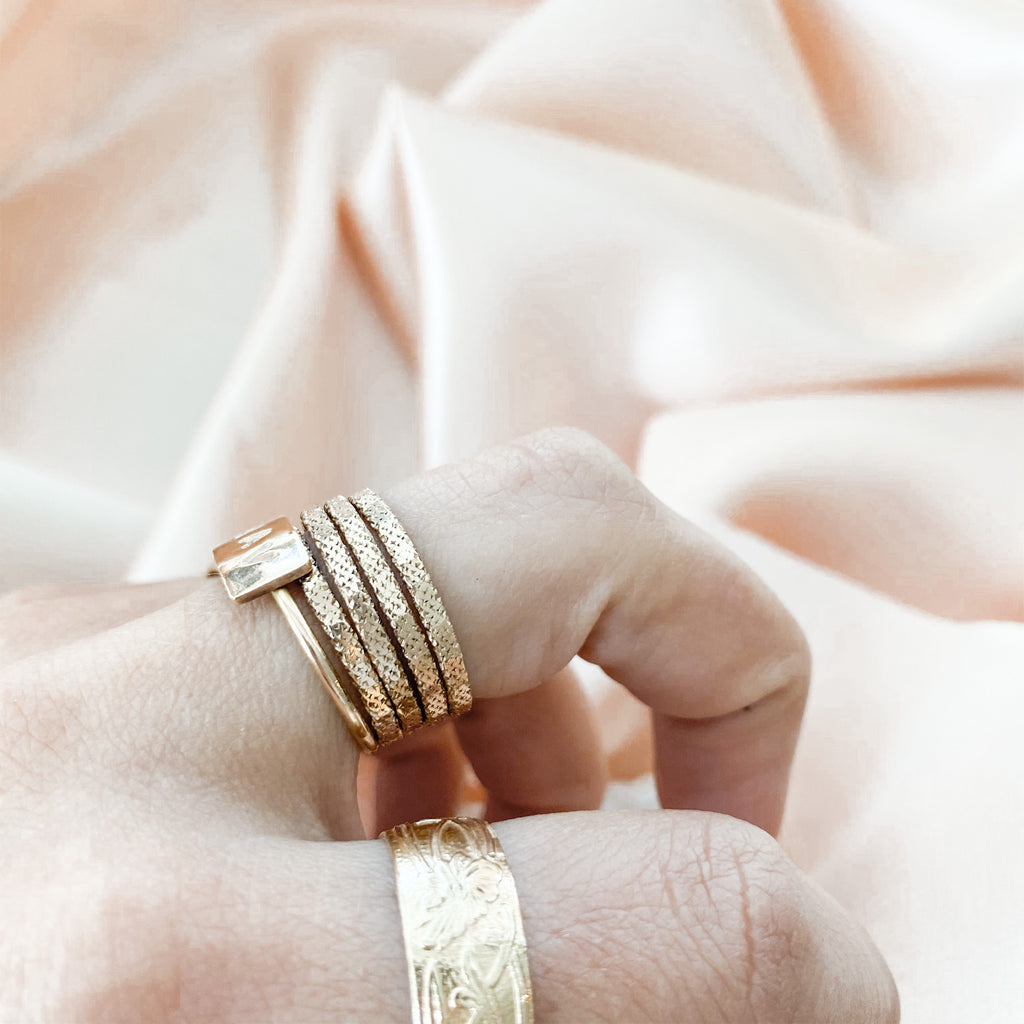 Sparkle Stacker Ring