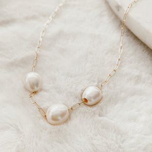 Paradise Pearl Necklace