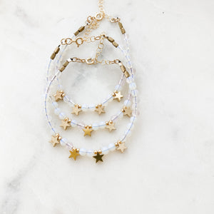 Milky Way Beaded Bracelet