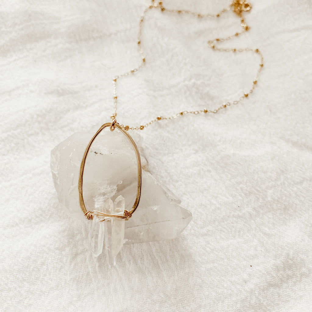 Crystal Balance Necklace