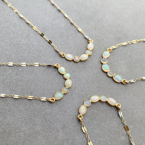 Mini Opal Collar Necklace