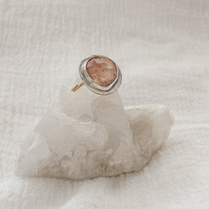 Strawberry Quartz Ring