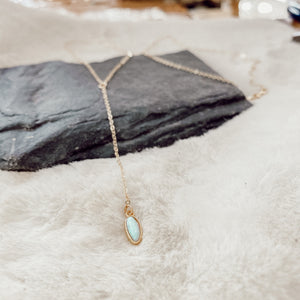 Opal River Necklace