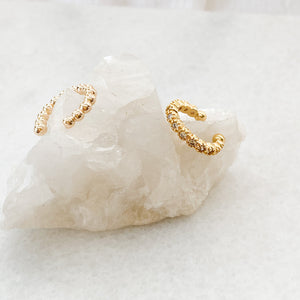 Gold Ear Cuffs
