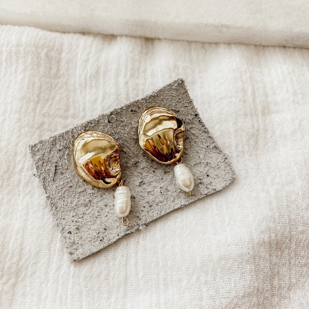 Oceanside Pearl Earrings