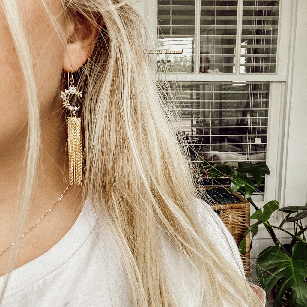 Skyline Tassel Earrings