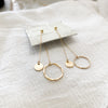 Intertwined Drop Earrings