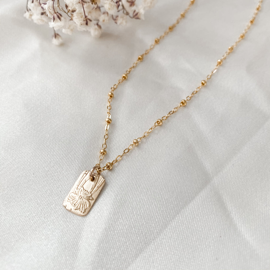 Love Letter Layering Necklace