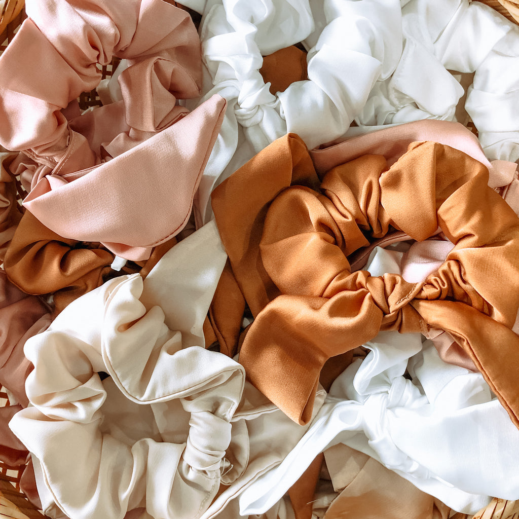 Silk Bow Scrunchies - Gypset