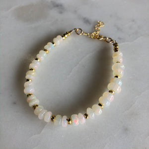 All Around Opal Beaded Bracelet - Gypset