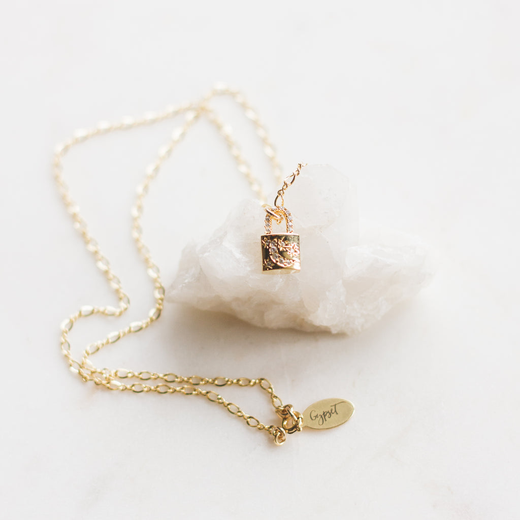 Winter Lock Necklace