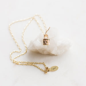 Winter Lock Necklace - Gypset