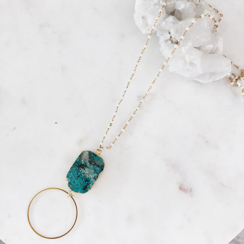 Into The Ocean Layering Necklace