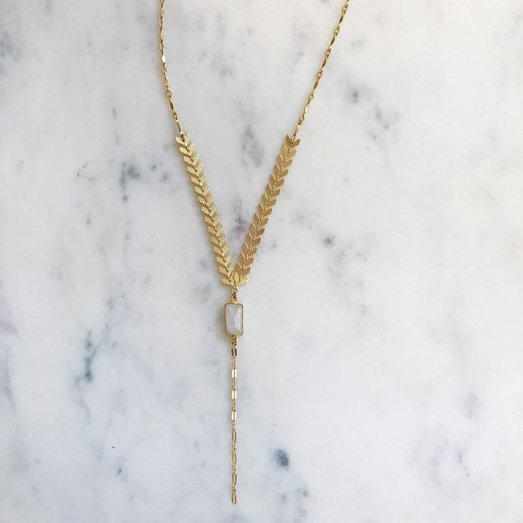 Fishbone Lariat