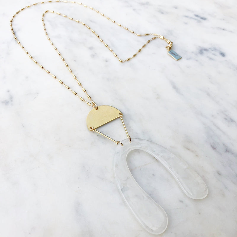 Bellbottom Babe Layering Necklace